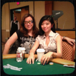 Jennifer Tilly and Xuan Liu