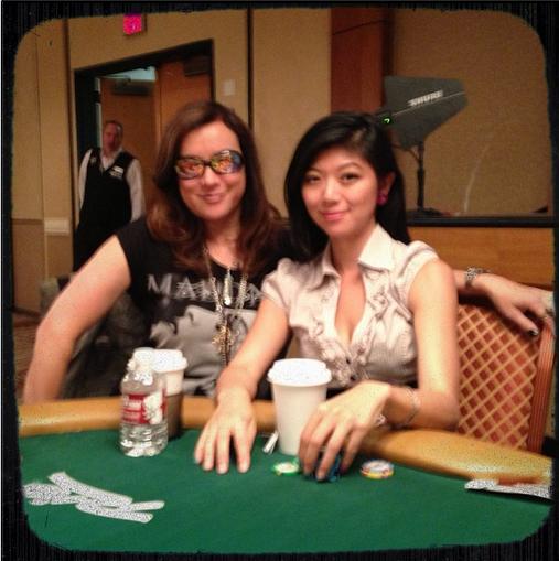 Jennifer Tilly and Xuan Liu