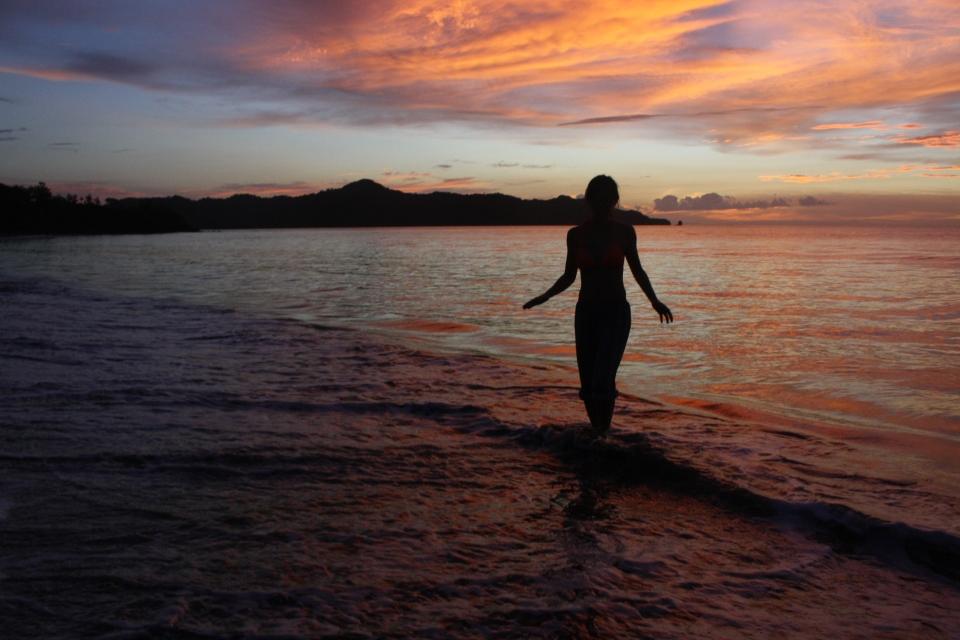 Xuan Liu Costa Rica Sunset