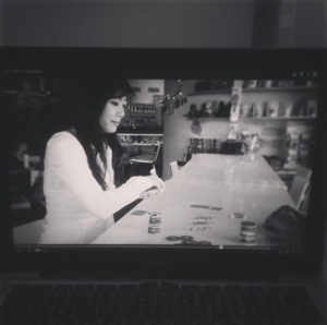 A nice shot my sister took of the CBC feature on her laptop