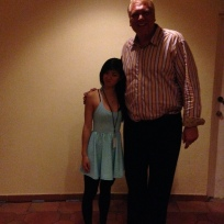 I can teach Rob poker, but can he teach me to be tall?